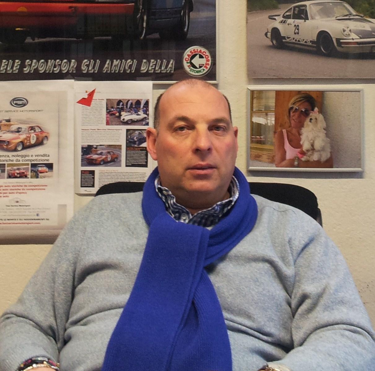 Roberto Ermini, titolare di Trattamenti Termici Toscani