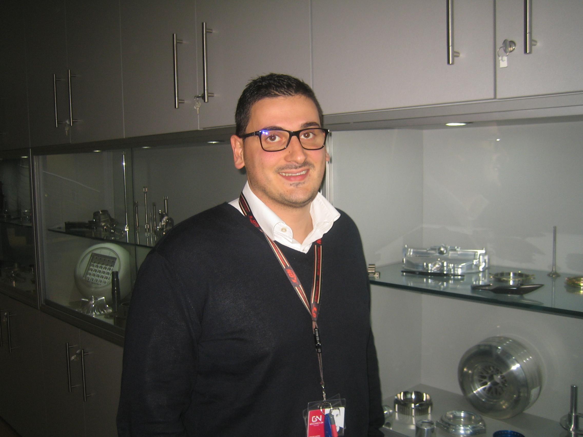 Stefano Mucelli, Technical Management della Meccanica GN S.p.A.