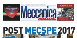 Meccanica news aprile 2017, speciale post mecspe