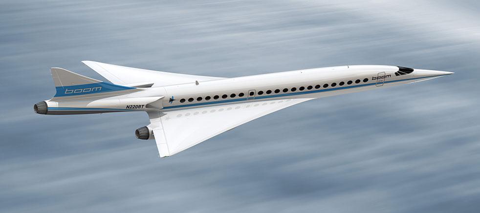 aereo passeggeri supersonico - boom supersonic