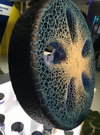Michelin Vision - battistrada con stampa 3d