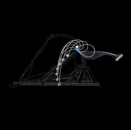 Robotica, nuovo braccio ispirato a catapulta di leonardo da vinci