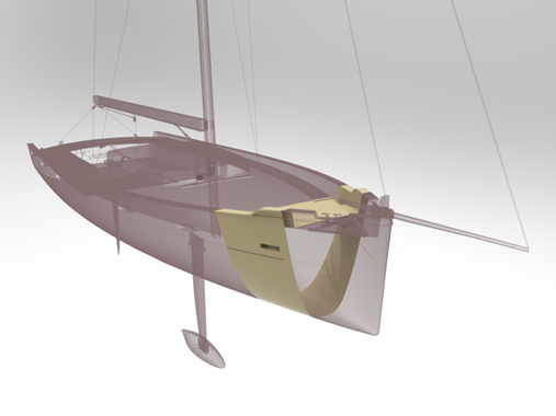 Livrea yacht stampato in 3D