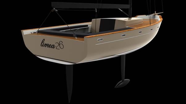 livrea yacht realizzato con stampa 3d