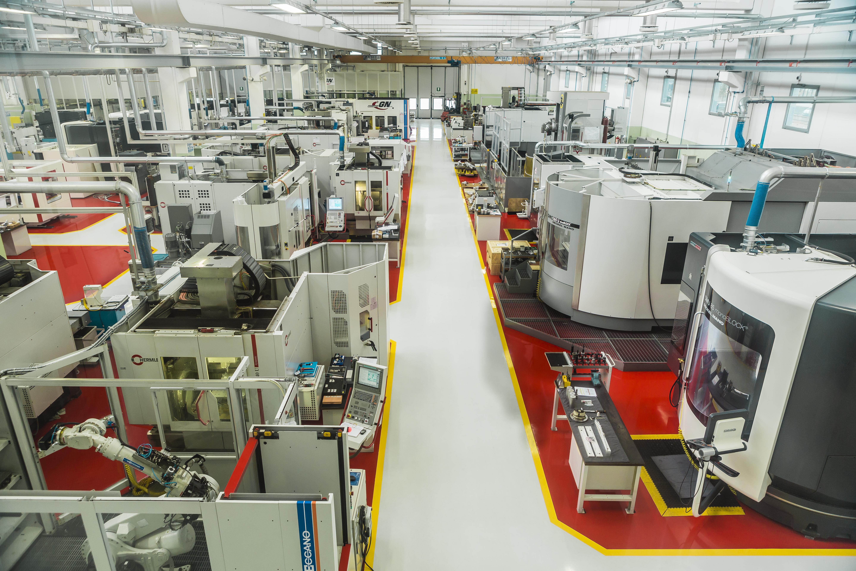 Reparto di produzione di Meccanica GN