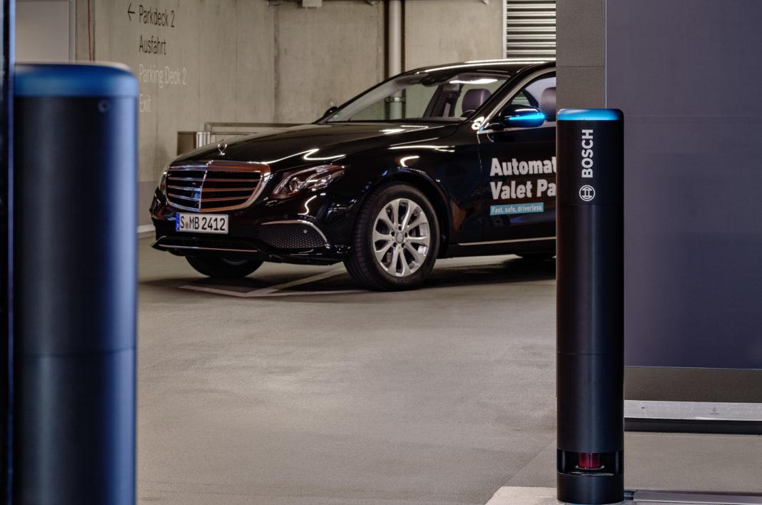 bosch e daimler - parcheggio autonomo