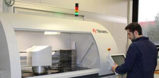 Tec eurolab centro analisi automatizzato per l'aerospaziale