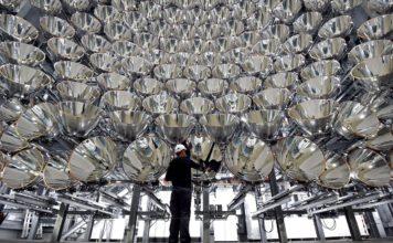 Synlight, il sole artificiale che produce idrogeno