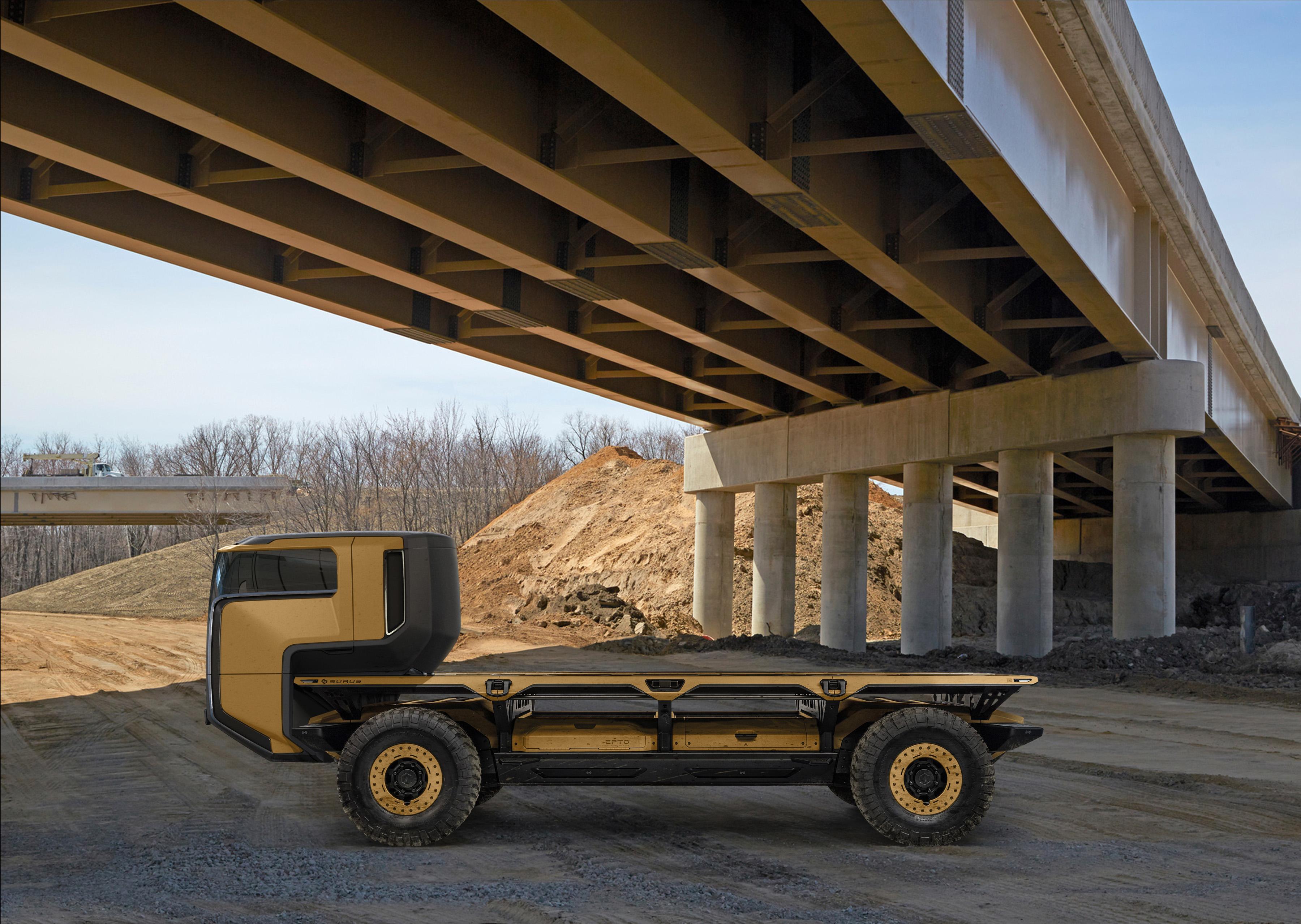 surus il trasporto basato su fuel cell e guida autonoma