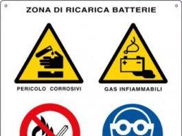 ricarica delle batterie in zone esplosive
