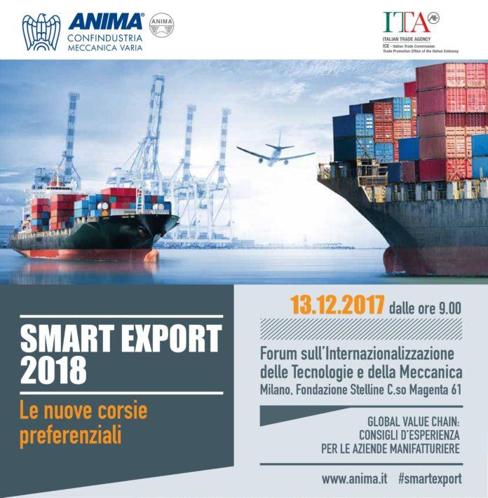 smart export 2018 anima