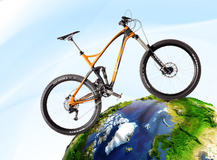 igus bike: mountain bike igus con cuscinetti iglidur